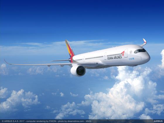 아시아나항공 A350-900 [아시아나항공]