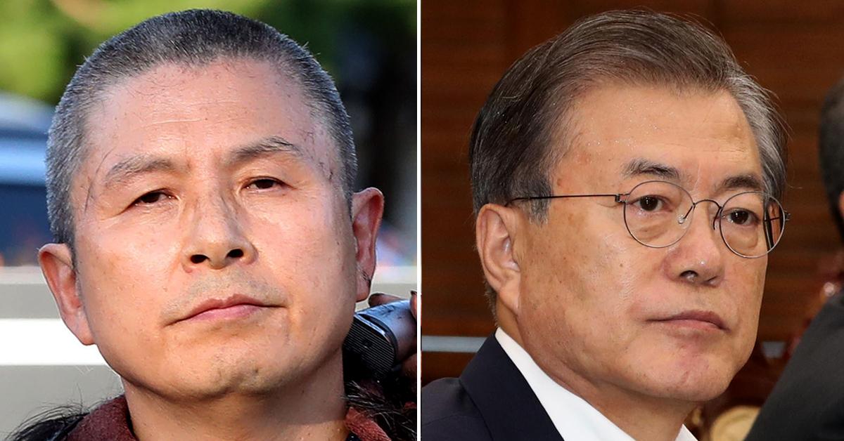 문재인 대통령(오른쪽)과 황교안 자유한국당 대표. [연합뉴스]
