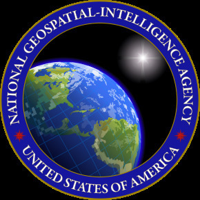 미 국가지리정보국(NGA) 로고. [사진 NGA]