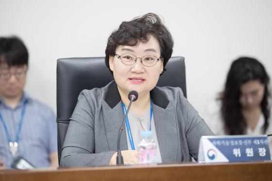 문미옥 과학기술정보통신부 1차관. [연합뉴스]