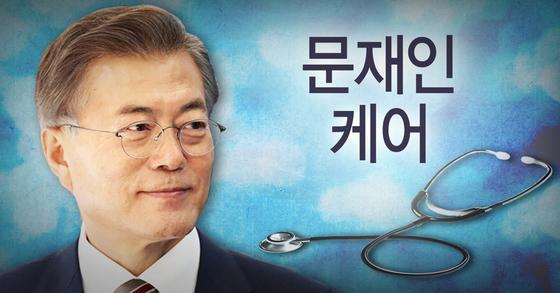 '문재인 케어'로 의료 혜택은 늘지만 결코 공짜가 아니다. 국민 부담으로 속속 돌아오고 있다. [연합뉴스]