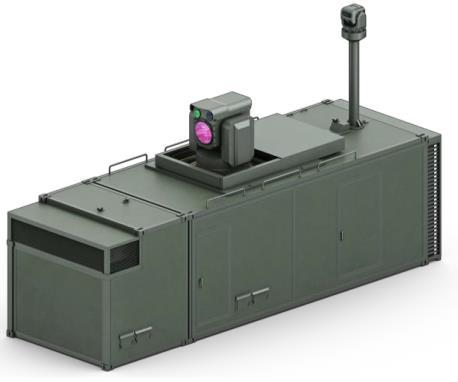레이저대공무기(Block-Ⅰ) 형상도. [방위사업청 제공]