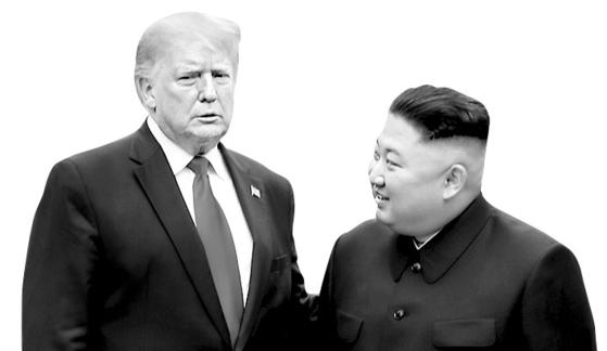 도널드 트럼프 미국 대통령과 김정은 북한 국무위원장 [중앙포토]