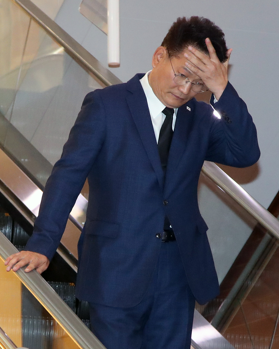 송영길 더불어민주당 의원. 김상선 기자