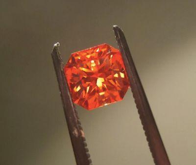 파파라차 사파이어(Padparadscha sapphire). [사진 Wikimedia Commons]