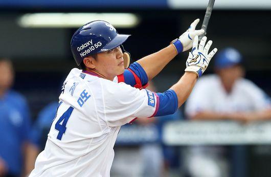 19일 대구 KIA전에서 시즌 3호 홈런을 때려낸 박계범. 삼성 제공