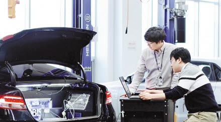 현대모비스는 자율주행기술 확보에 연구 역량을 집중하고 있다. 독자 센서 기술을 바탕으로 ADAS 기술을 고도화하고, 이를 융합한 자율주행기술 솔루션 확보에 힘쓰고 있다. [사진 현대모비스]