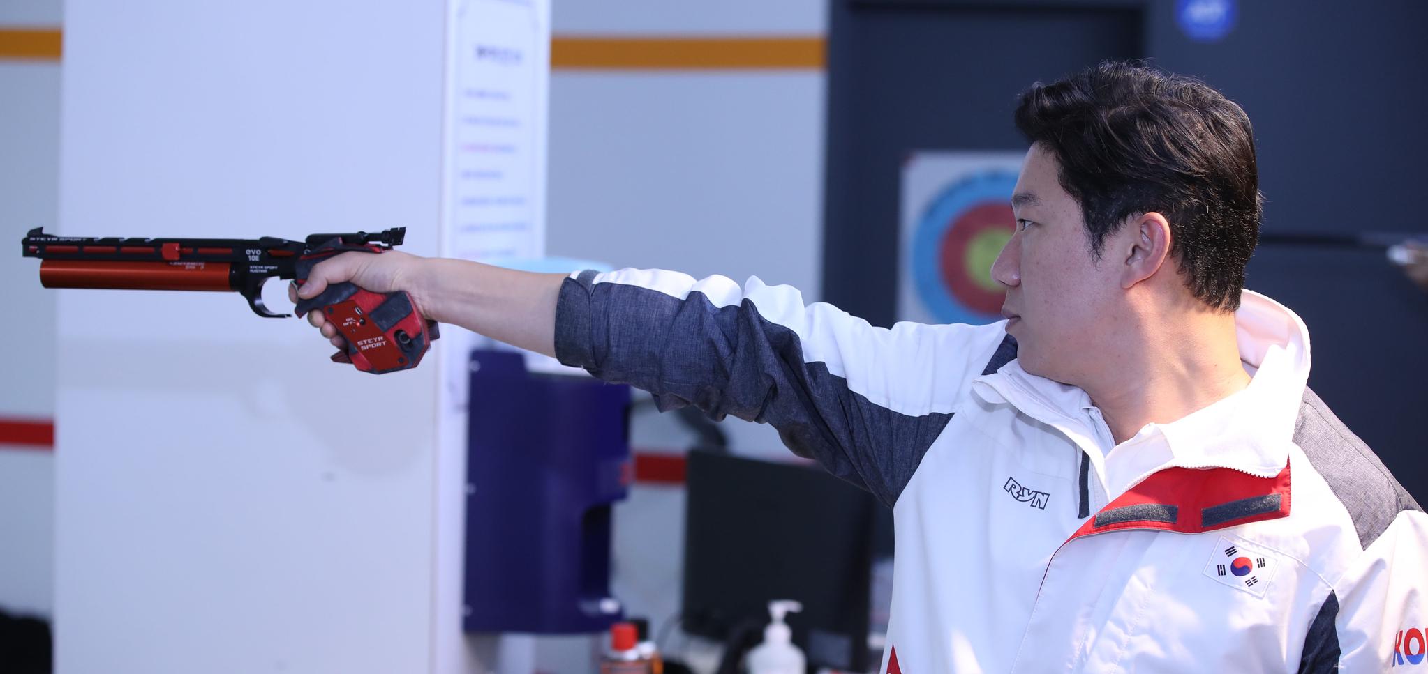 올림픽에서만 금메달 4개를 딴 권총황제 진종오. 오종택 기자