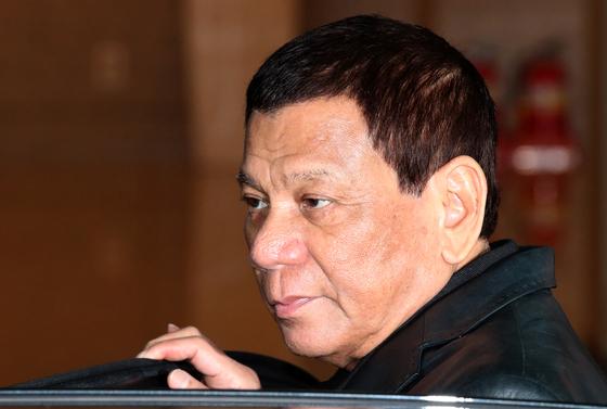 로드리고 두테르테 필리핀 대통령. [뉴시스]
