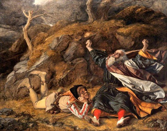 리어왕 역시 가믄장아기의 아버지처럼 자기애가 충만했다. [사진 Wikimedia Commons]
