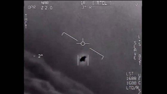 미 해군이 공개한 UFO 영상. [사진 유튜브 캡처]