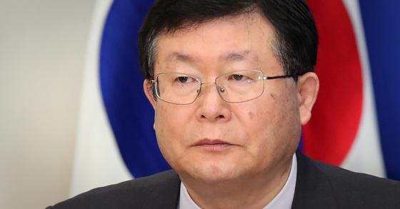설훈 더불어민주당 최고위원. [뉴스1]