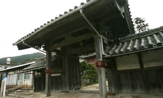 쓰시마 고쿠분지- 통신사 일행의 객관으로 사용했던 곳 [중앙포토]