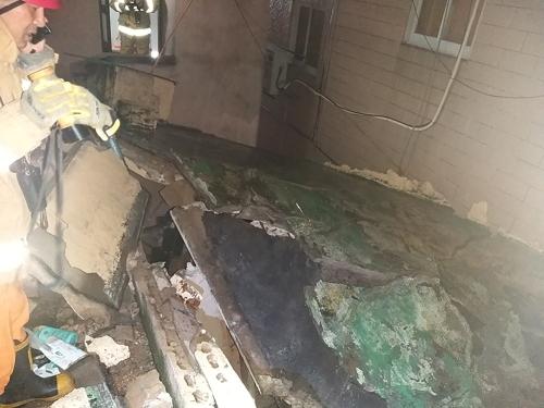 태풍 타파에 부산 폭우…단독주택 붕괴, 70대 여성 깔려 사망