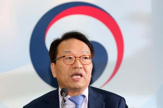 한인섭(60) 형사정책연구원장. [중앙포토]