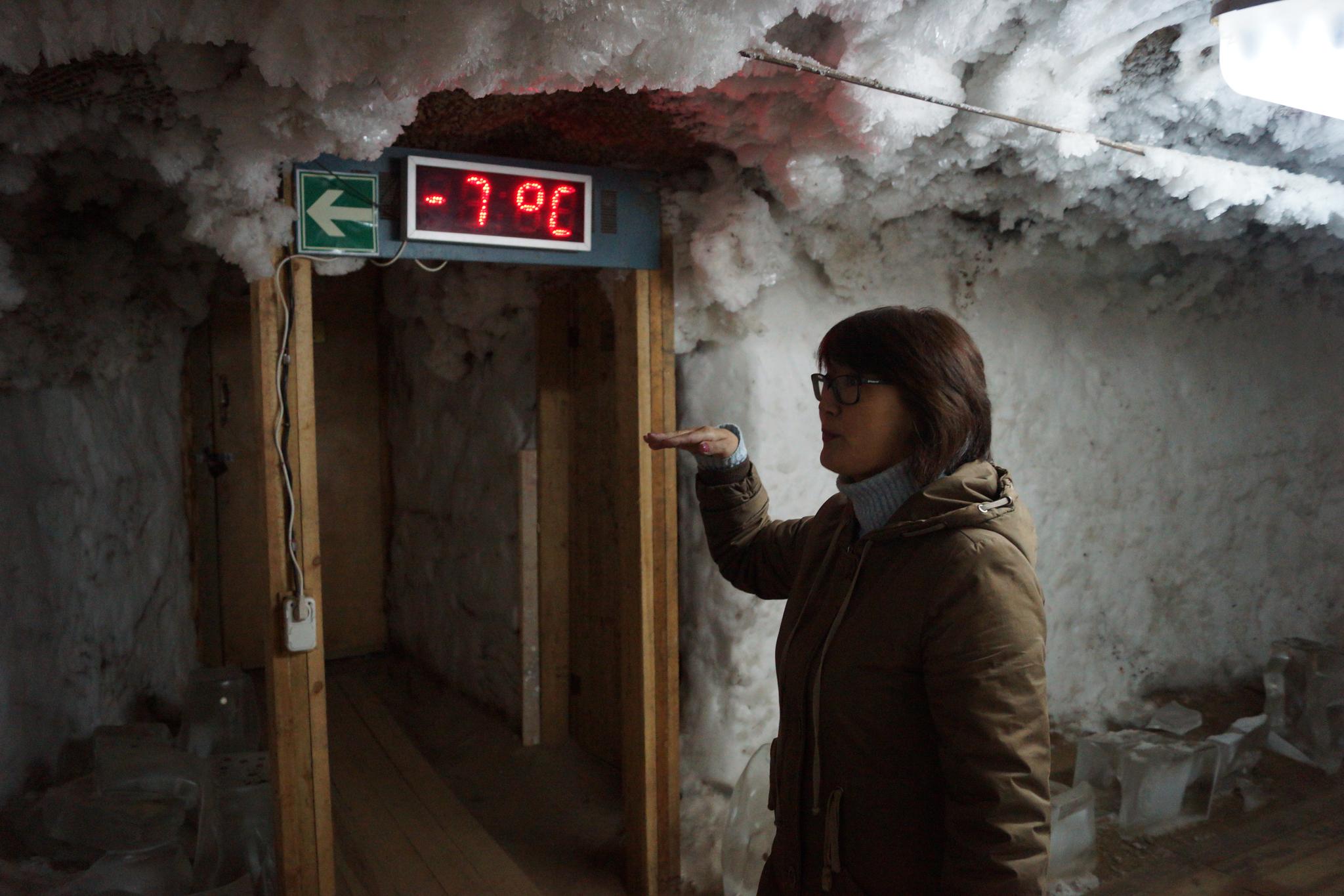 러시아 사하공화국 야쿠츠크에 위치한 영구동토박물관. 온난화로 영구동토가 녹아내리면 땅속에 갇혀있던 메탄이 방출돼 지구온난화를 부추길 것으로 전문가들은 우려하고 있다. [중앙포토]