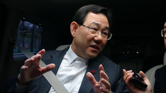 주호영 자유한국당 의원. [중앙포토]