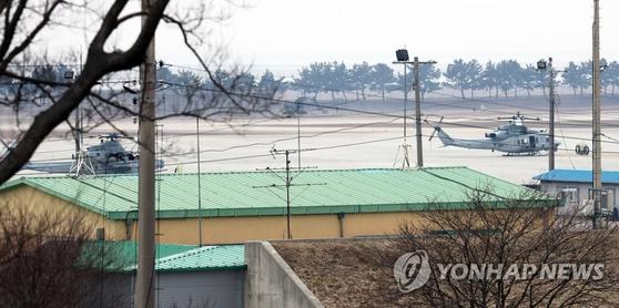 군산 공군기지. [연합뉴스]