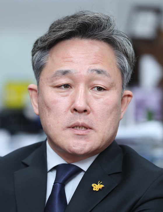 표창원 더불어민주당 의원. 양광삼 기자