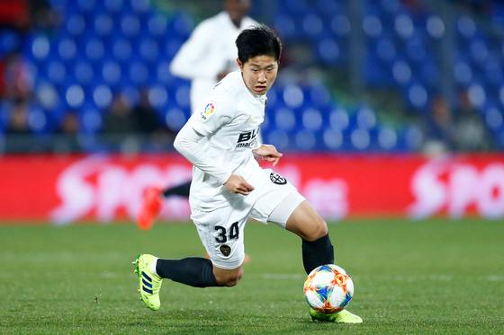 프리메라리가에서 4경기 연속 출전하며 주목 받고 있는 한국인 미드필더 이강인. [AFP=연합뉴스]