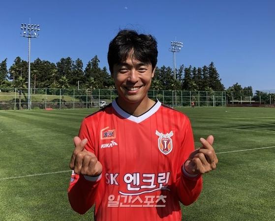 권순형은 데뷔 11년 만에 K리그 300경기 출전 기록을 달성했다. [사진 권순형]