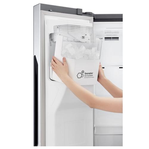 양문형 냉장고 도어제빙 시스템 [사진 LG전자]