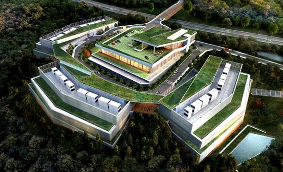 강원도 춘천에 있는 네이버 데이터센터. [중앙포토]