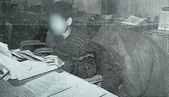 화성연쇄살인사건 유력한 용의자가 경찰조사를 받는 모습 [연합뉴스]