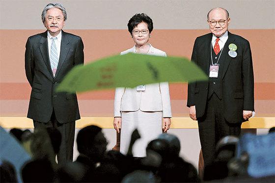 캐리 람 홍콩 행정장관. [로이터=뉴스1]