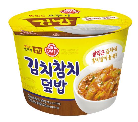 오뚜기 '김치참치덮밥'