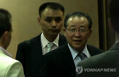 김계관 북한 외무성 고문. [연합뉴스]