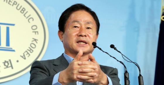 주광덕 자유한국당 의원. 김경록 기자