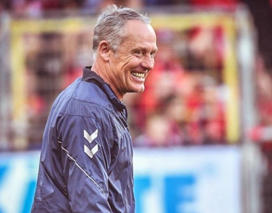 슈트라이히 감독이 지휘하는 프라이부르크는 올 시즌 분데스리가 최대 돌풍을 이끌고 있다. [사진 프라이부르크 인스타그램]