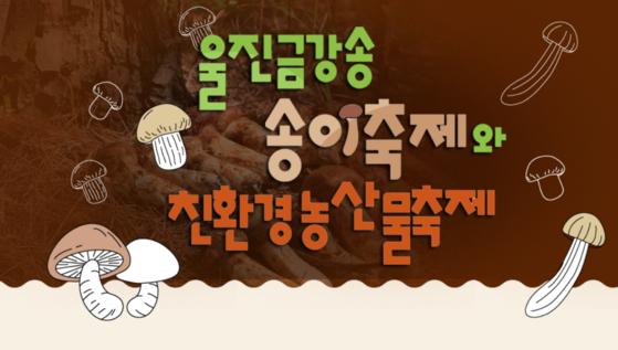 울진 금강송 송이 축제와 친환경 농산물축제 [사진 울진군]