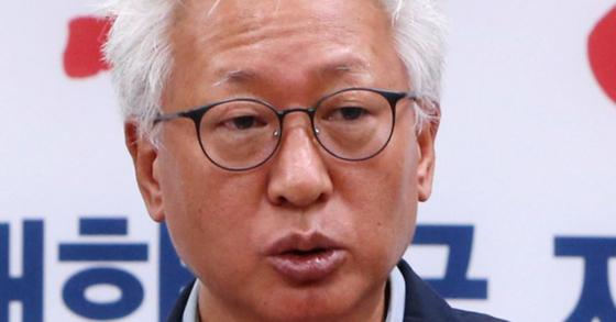 류석춘 연세대 교수. 조문규 기자.