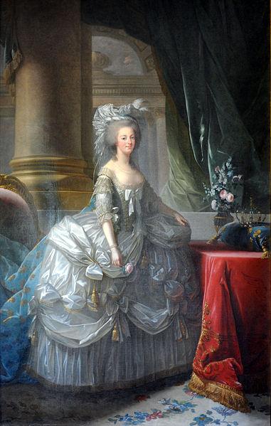 앙투아네트의 초상(1783). 비제-르브렁 作. [사진 wikimedia commons(public domain)]