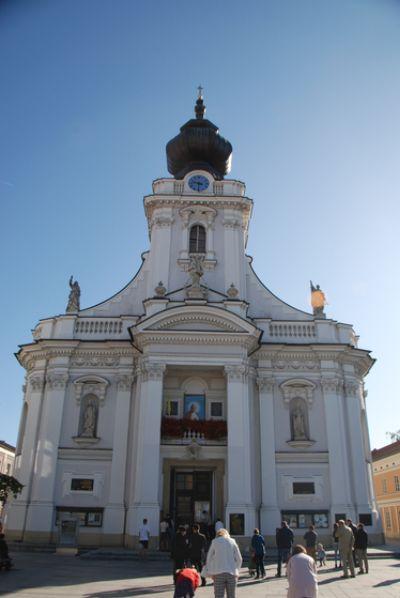 요한 바오로 2세가 아홉 살 때 첫 영성체를 받았던 폴란드 바도비체의 성모 마리아 대성당. 백성호 기자