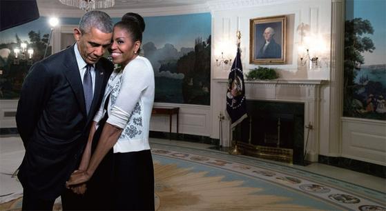 버락 오바마 전 미국 대통령과 미셸 오바마. / 사진:미국 백악관