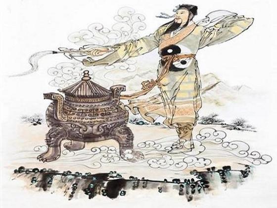 중국의 연금술인 '연단술'은 주로 도교 사제인 도사들이 행했다. 단약을 만드는 도사의 모습에서 뭔가 신비한 힘이 느껴진다.