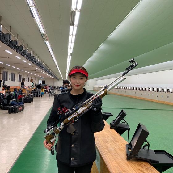 도쿄올림픽 사격 여자 10m공기소총 금메달 후보로 꼽히는 임하나. [사진 임하나 제공]