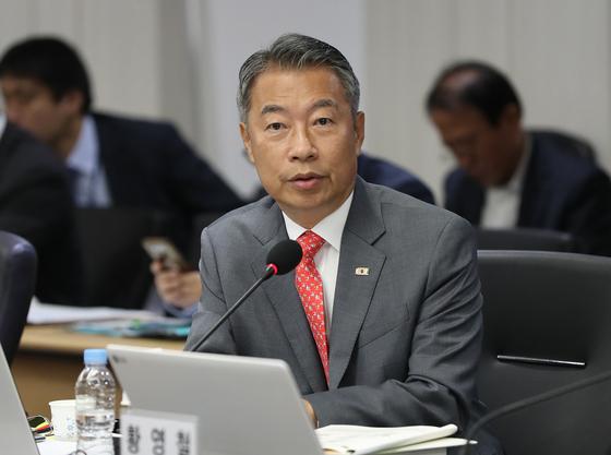 정종섭 자유한국당 의원. [연합뉴스]