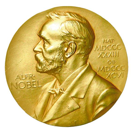 노벨상 메달.