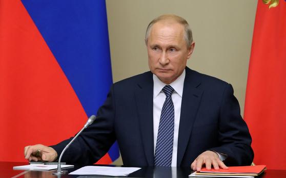 블라디미르 푸틴 러시아 대통령 [로이터=연합뉴스]