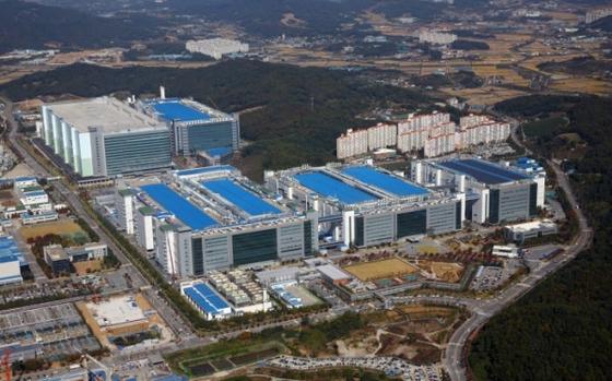 삼성디스플레이 아산캠퍼스. [사진 삼성전자]