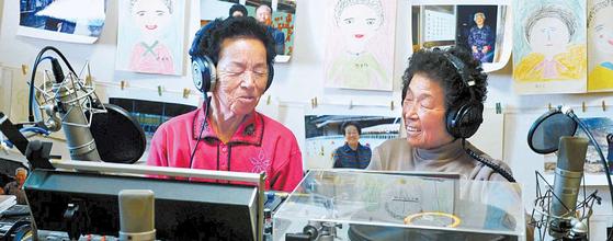 풍정마을은 라디오를 통해 주민 간 일상을 공유하고 있다. 주민 모두가 라디오 DJ로 활동하며 서로의 일상을 나누며 공감대를 형성하고 있다. [사진 농림축산식품부]