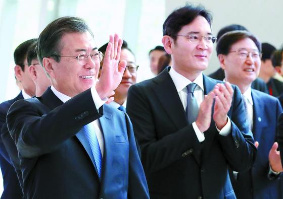"""'삼성이 한국경제 이끌어 줘 감사"""""""