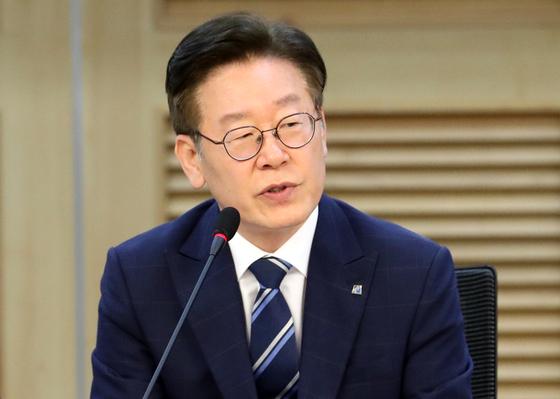 이재명 경기도지사 [연합뉴스]