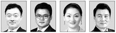 이태훈, 노철오, 이항영, 정성안(왼쪽부터)