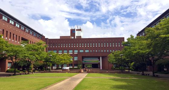 한국산업기술대학교 전경
