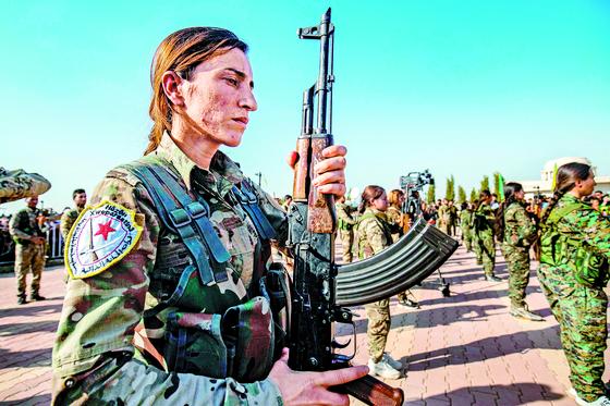 [사진] 쿠르드 정치지도자 장례식